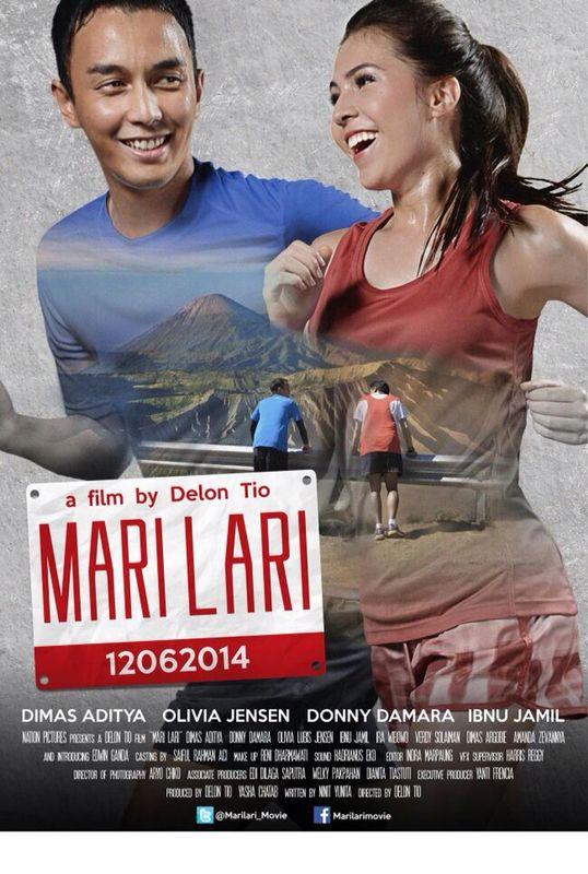 Poster Film Mari Lari